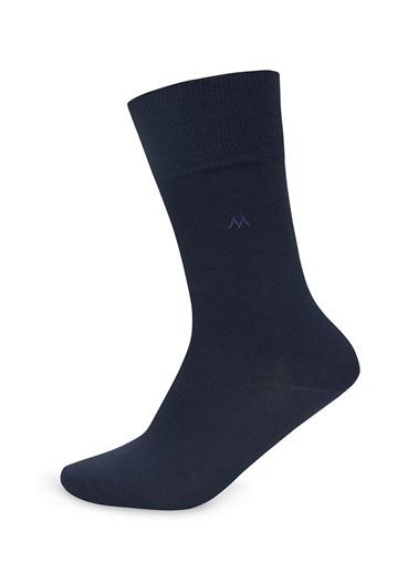 Hemington Pamuklu Çorap Lacivert